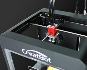 3д принтерCreatBot DX печатающие головки