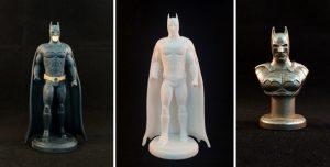 Фигурка Бэтмена на 3Д принтере