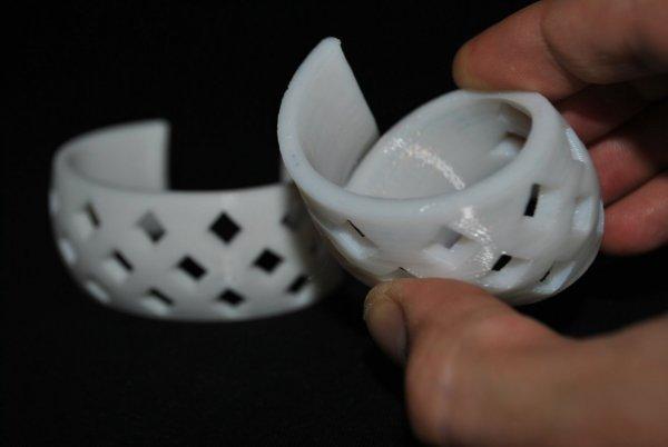Rubber plastic FlexibelPolyEster for 3D printing