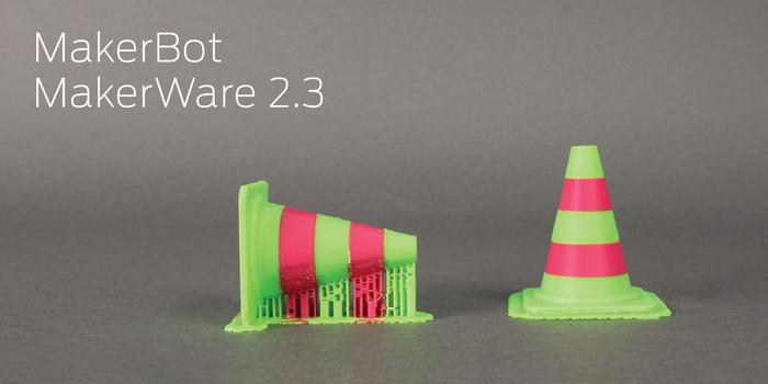 Работа с ПО MakerWare от MAKERBOT