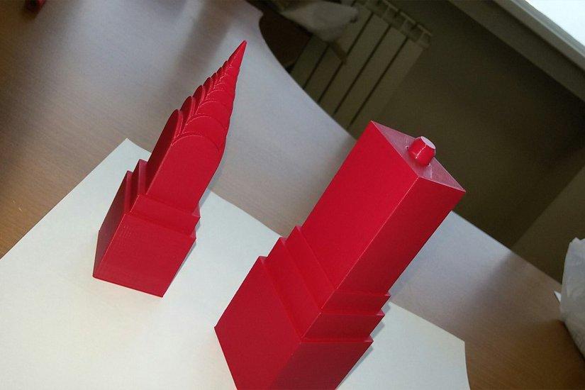 3D печать 3D модели