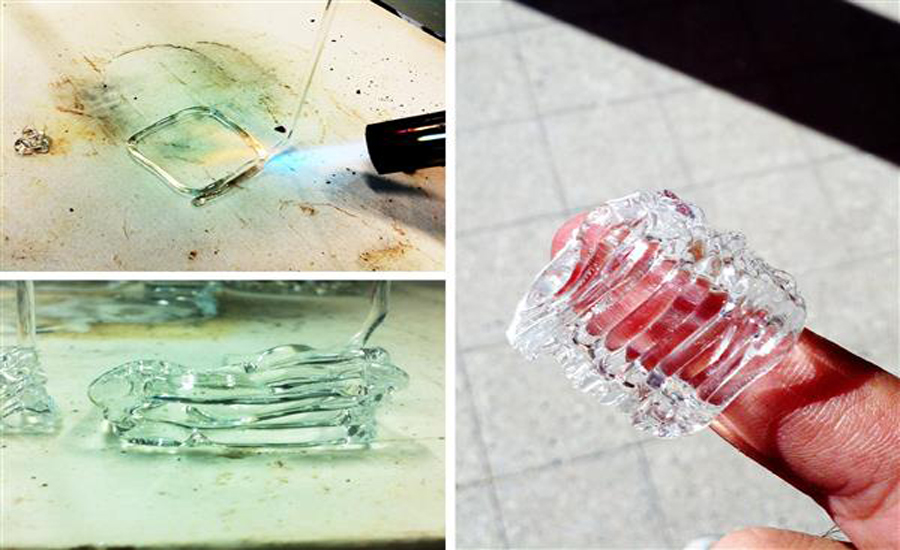 3D печать стекла