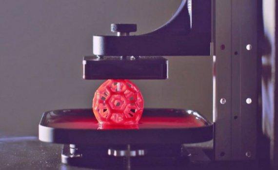 3D печать в 100 раз