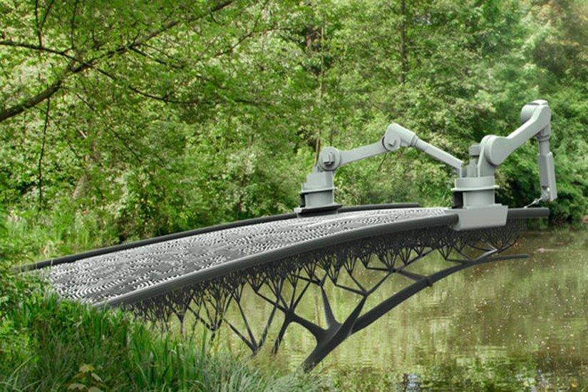 3D печать моста