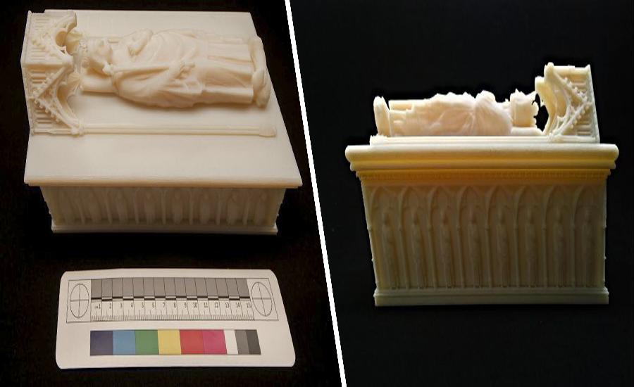 Гробницу короля Роберта Брюса восстановили с помощью 3D печати