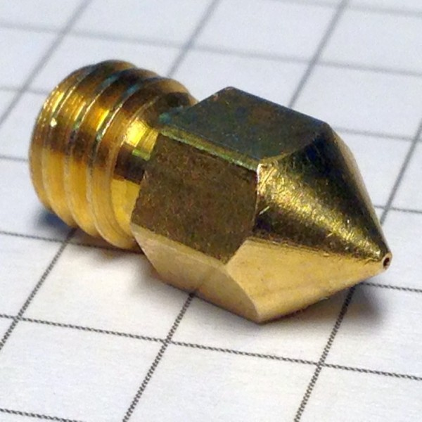 Сопло под тефлоновую трубку 0,4 мм нить 3,00 мм