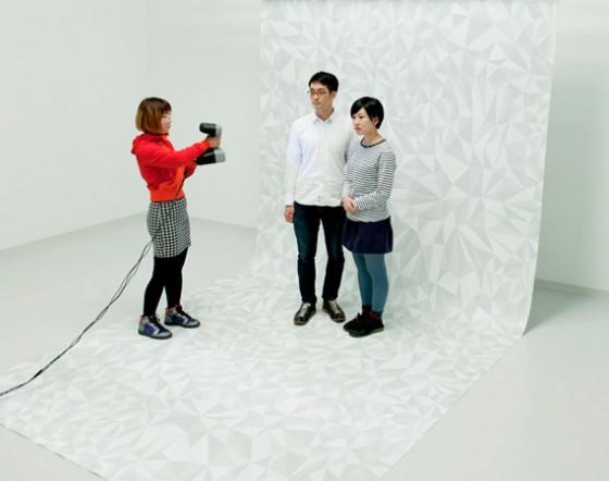 Полноцветная 3D печать гипсом