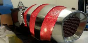 Удивительный концепт-кар Bugatti С помощью SLA Skorpion