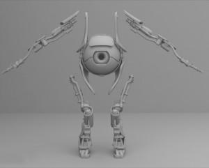 Печать робота Атлас