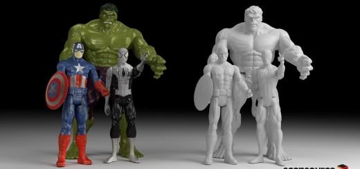 3D печать угроза Голливуду