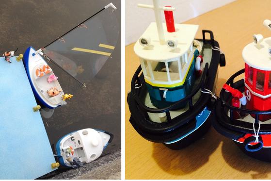 3D печать корабль