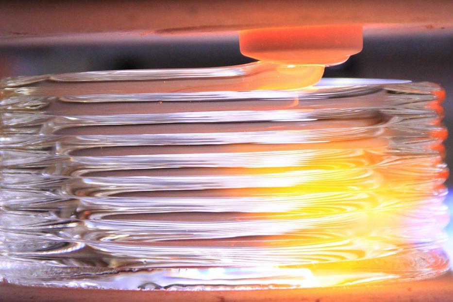 3D-печать стеклом