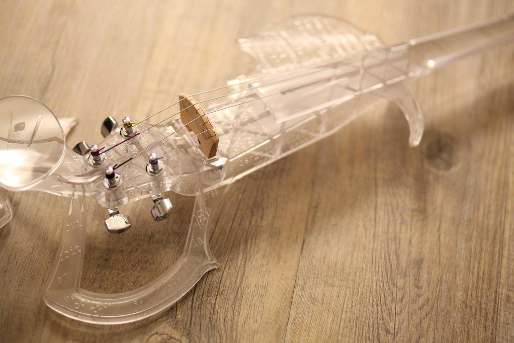 3D принтер скрипка