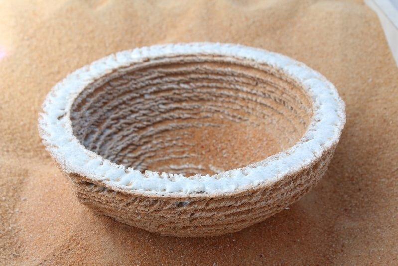 3D печать песком и солнцем