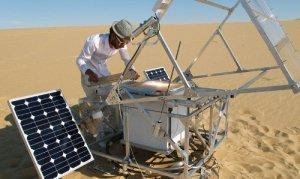 3D принтер для печати песком и солнцем