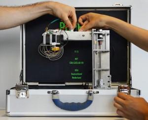 Портативный 3D принтер PopFab