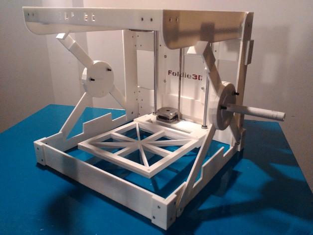 3D принтер в сумке для ноутбука