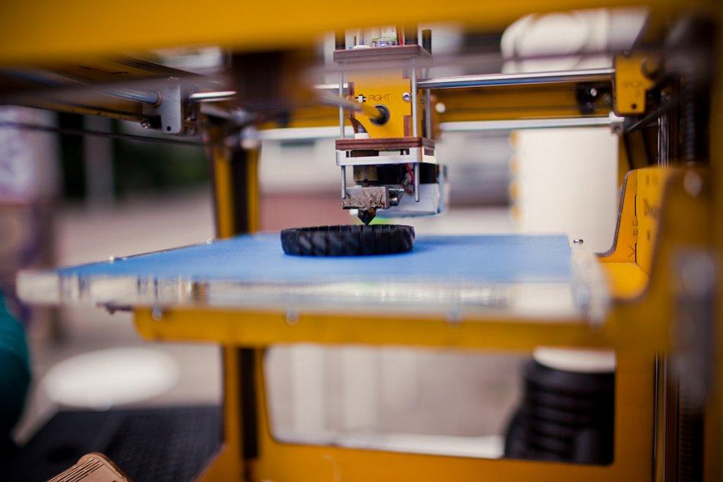 работа с 3D принтером