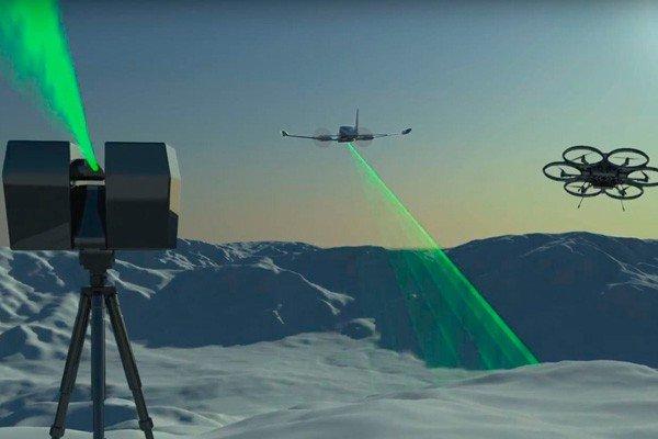 3D сканирование квадрокоптер