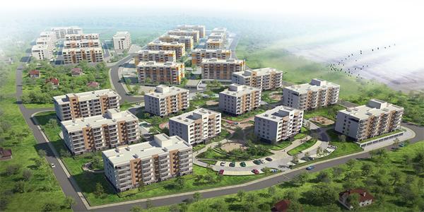 3DDevice и макетирование жилого комплекса «Липинка»