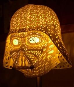 3д печать светильника в стиле звездные войны 3ddevice.com.ua