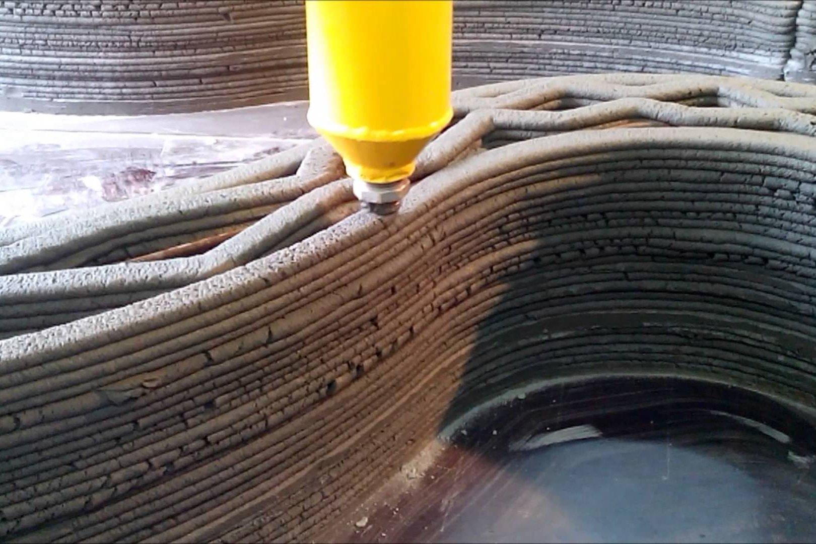 3D печать дом