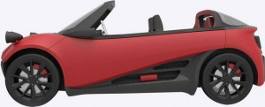 3d печатный автомобиль 3ddevice.com.ua