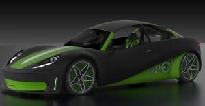 3d печатный автомобиль C3 3ddevice.com.ua