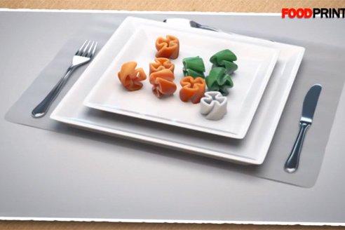 3D принтер еда