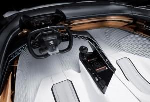 салон автомобиля Peugeot-Fractal- на 3dпринтере 1