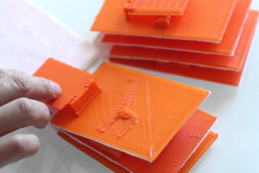 3D печать книги