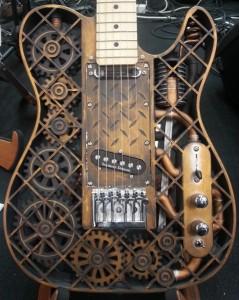 Оригинальная гитара на 3D принтере