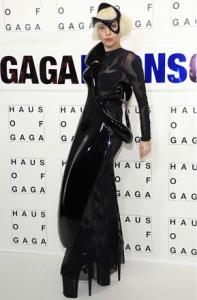 lady-gaga в 3d-печатном платье
