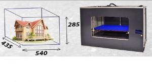 3D принтер Existence= большая область печати
