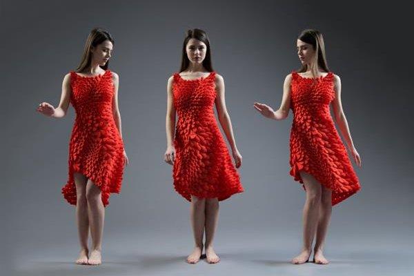 3D печать платья