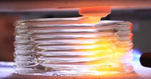 Стеклянные изделия по технологии 3D печати