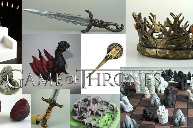 3D печать трон