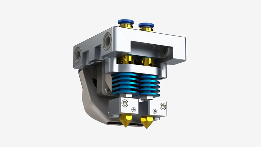 3D принтер CreatBot DE экструдер