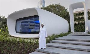 3D-печатный офис в Дубае