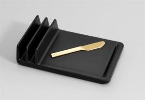 Сервировочное блюдо и нож на 3D принтере