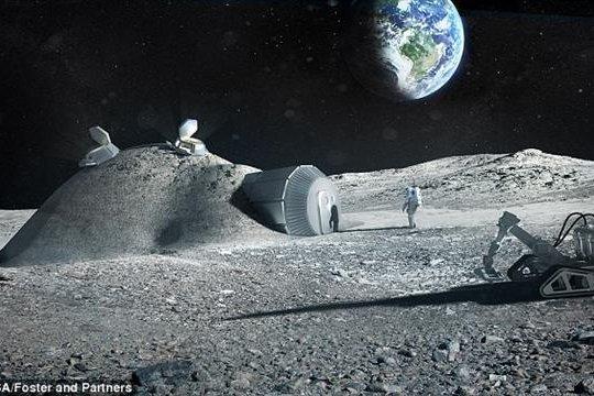 3D печать на Луне