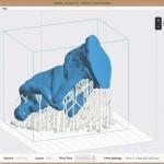 3d принтер Formlabs Form2 схема печати