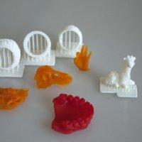 3д принтер Liquid-Crystal заказать в Киеве пример печати