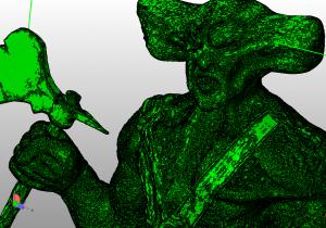 3D модель со слишком большим количеством полигонов