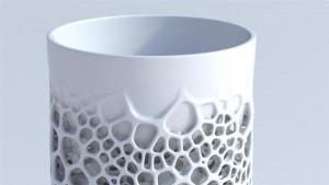 3D-печатная фарфоровая чашка1
