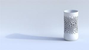 3D-печатная фарфоровая чашка2