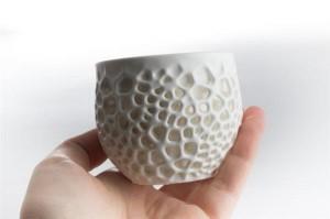 3D-печатная фарфоровая чашка3