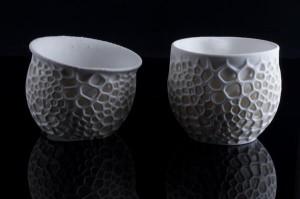 3D-печатные фарфоровые чашки1