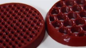 3D-печатные структуры из силикона