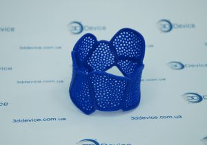 Браслет на 3D принтере1